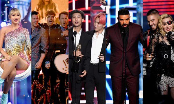 BBMA 2019: Drake bate recorde em prêmios e BTS, Taylor Swift, Madonna e Jonas Brothers são destaques; confira os vencedores e tudo que rolou!