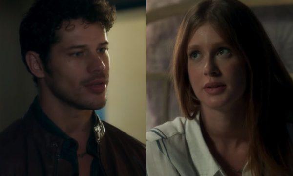 O Sétimo Guardião: No último capítulo, Luz decide romper com Júnior: 'Sua grande amiga'