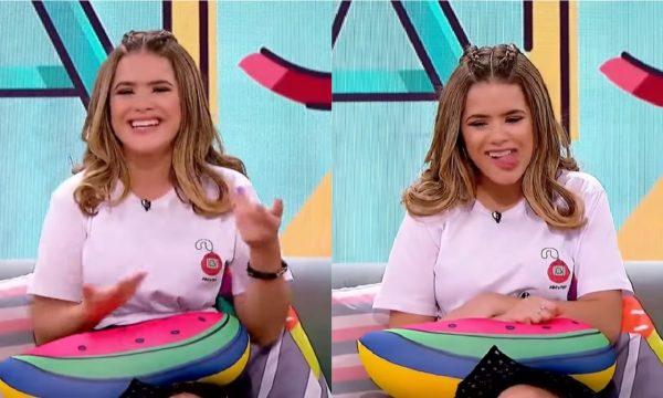 """Maisa relembra técnica de treino para primeiro beijo: """"Achava que tinha que ficar girando a língua"""""""