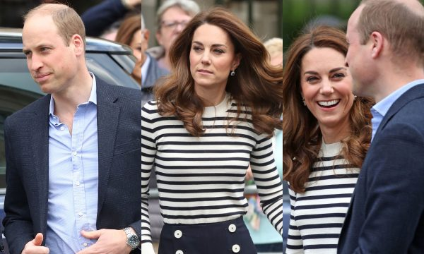 Príncipe William e Kate Middleton falam pela primeira vez sobre o nascimento do bebê de Meghan e Harry, e revelam que ainda não viram o sobrinho; assista