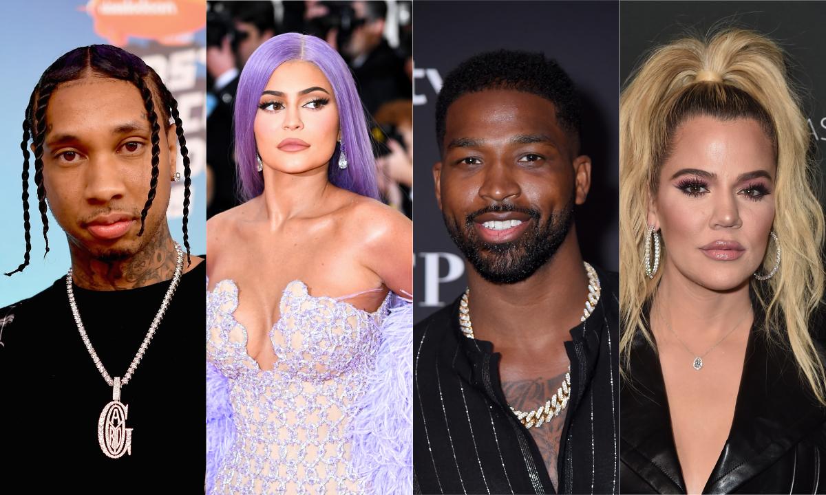 Tyga já foi casado com a ex de Tristan Thompson, e revelação só confunde ainda mais a árvore de relacionamentos das Kardashians!>