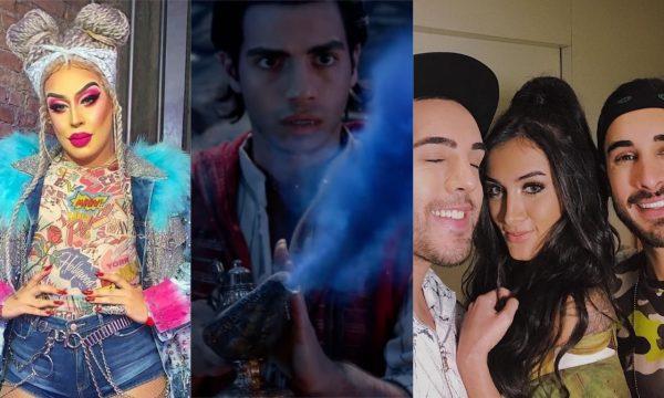 """""""Aladdin"""": Daniel Garcia (Gloria Groove) e Melim cantam versões de """"Um Mundo Ideal"""" na trilha sonora do live-action; vem ouvir!"""