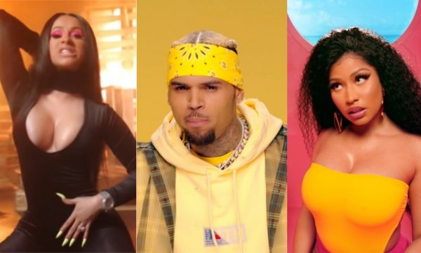 Rainhas do Rap! Cardi B e Nicki Minaj arrasam em novos clipes de DJ Khaled e Chris Brown; assista!