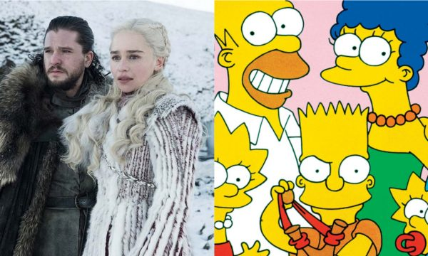 """Bola de cristal! """"Os Simpsons"""" previu cena do penúltimo episódio de """"Game of Thrones""""; assista!"""