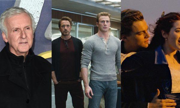 """James Cameron parabeniza Marvel após """"Vingadores: Ultimato"""" superar bilheteria de """"Titanic""""; veja declaração"""