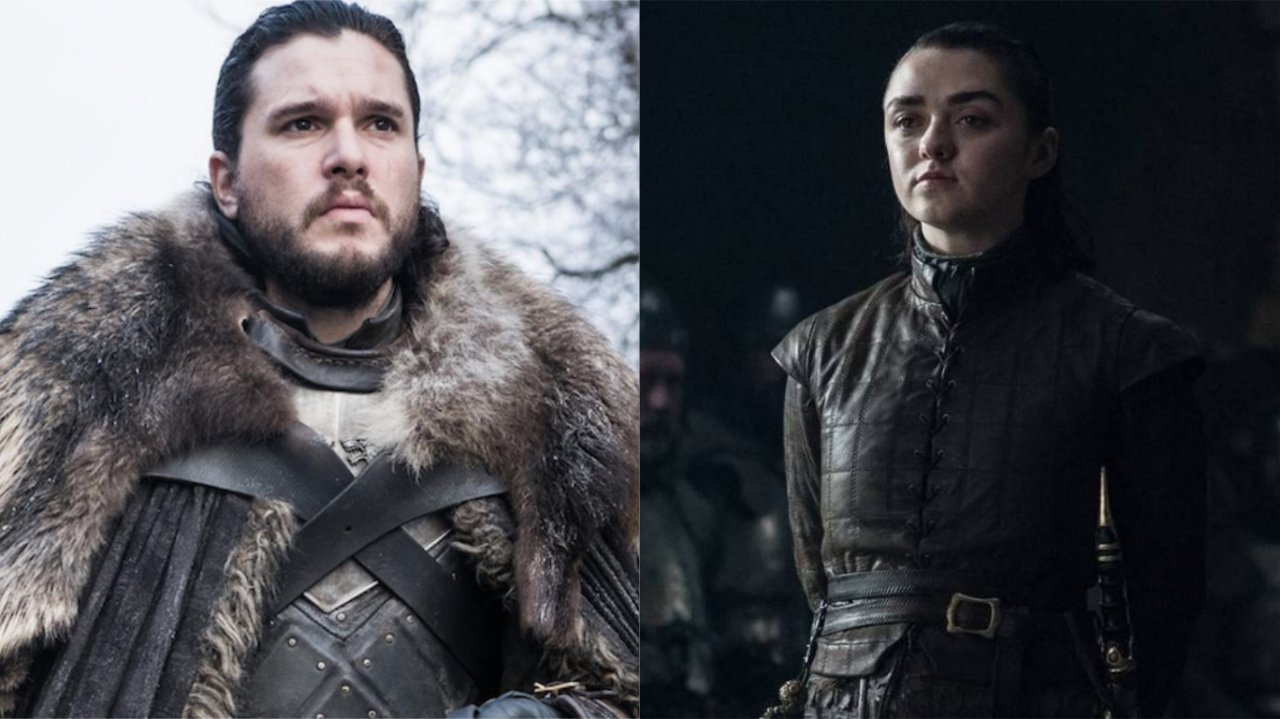 """[Alerta Spoilers] """"Game of Thrones"""": Kit Harington e Maisie Williams reagem às críticas sobre final da série: """"Podem se f****"""">"""
