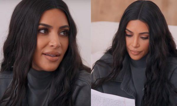 """""""KUWTK"""": Estudando para ser advogada, Kim Kardashian explica como seleciona prisioneiros que """"merecem segunda chance"""""""