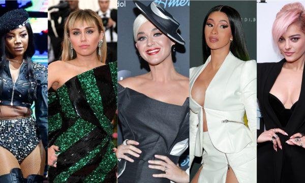 """Clipe LINDO de Katy Perry; EP poderoso de Miley Cyrus; novo single de Cardi B; álbum mara de Ludmilla e parceria bapho de Bebe Rexha são destaques nos """"Lançamentos de Sexta"""""""
