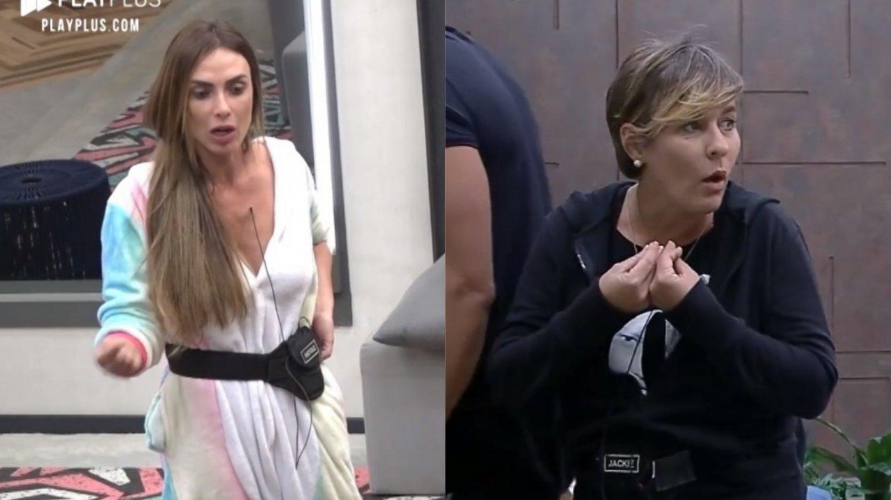 """Power Couple Brasil 4: Nicole Bahls briga com Jackie após discussão de estratégia: """"Quem é falsa, é falsa""""; assista>"""