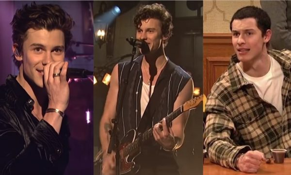 """SNL"": Shawn Mendes faz primeira performance do novo single ""If I Can't Have You"" e participa de esquete com Adam Sandler; assista!"
