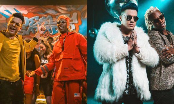 """Exclusivo: Wesley Safadão se joga no funk no videoclipe de """"Desencana"""", primeira parceria ao lado de MC Kekel"""