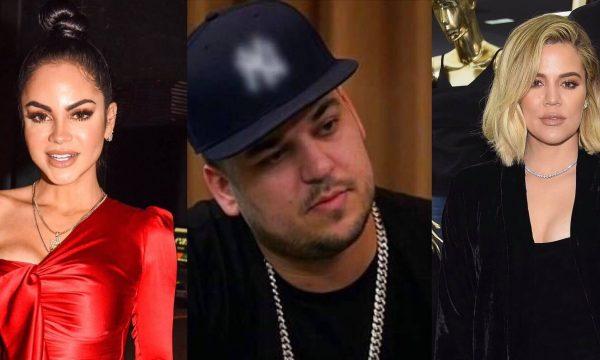 """Khloé Kardashian tira sarro do irmão Rob flertando na internet com Natti Natasha: """"Quem é essa garota?"""""""