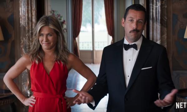 Jennifer Aniston enviou mensagem hilária para Adam Sandler antes de beijo deles em nova comédia da Netflix e fez pedido especial! Esposa do ator se entusiasmou com cena
