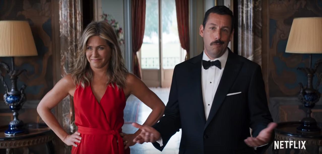 Jennifer Aniston enviou mensagem hilária para Adam Sandler antes de beijo deles em nova comédia da Netflix e fez pedido especial! Esposa do ator se entusiasmou com cena>