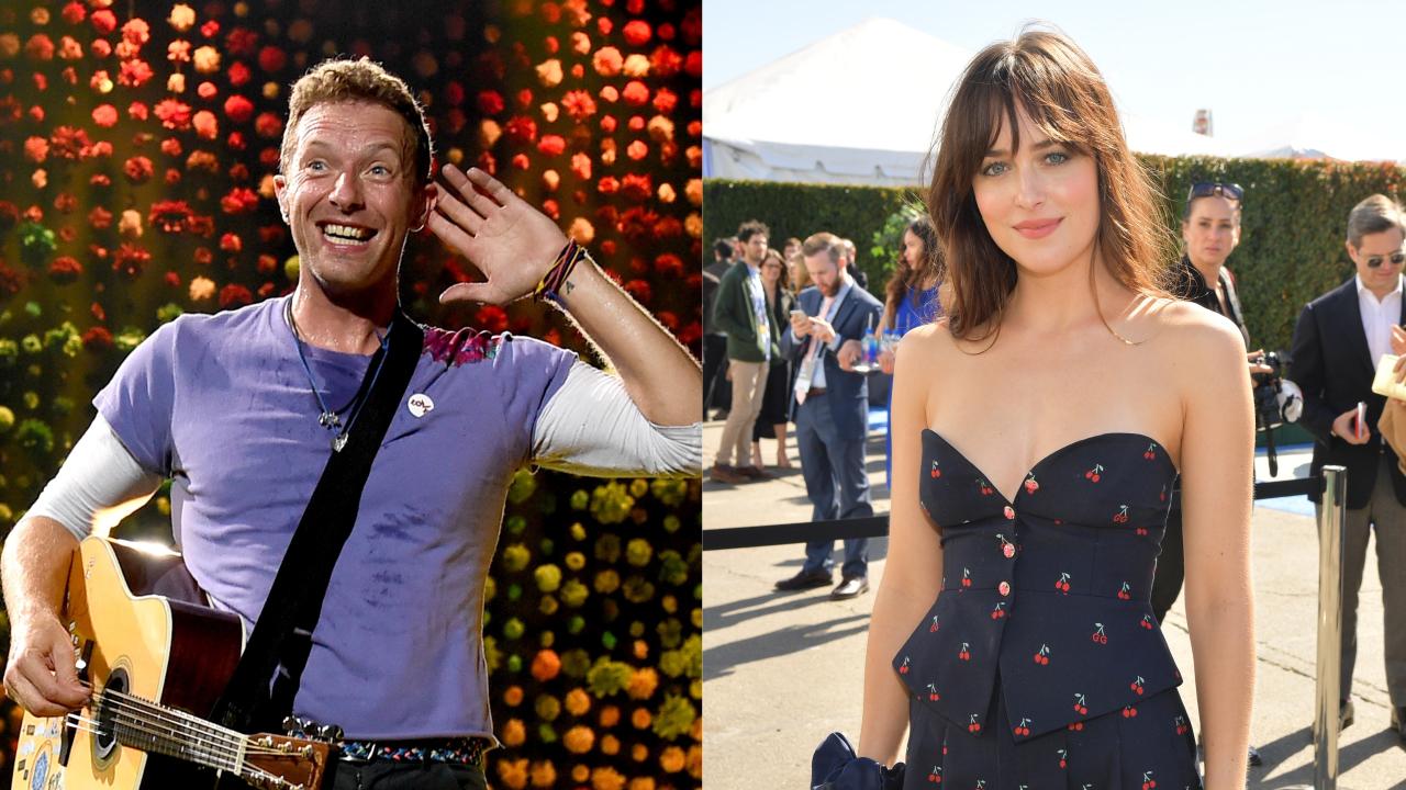OMG! Dakota Johnson e Chris Martin se separam após quase dois anos de namoro, diz site