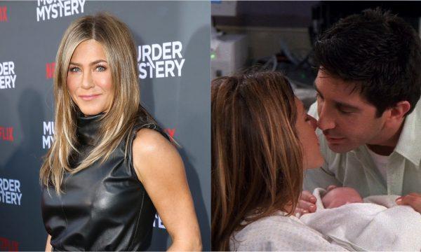 """Jennifer Aniston revela com qual co-estrela de """"Friends"""" ela teria namorado, e imagina como Ross, Rachel e a filha Emma estariam hoje"""
