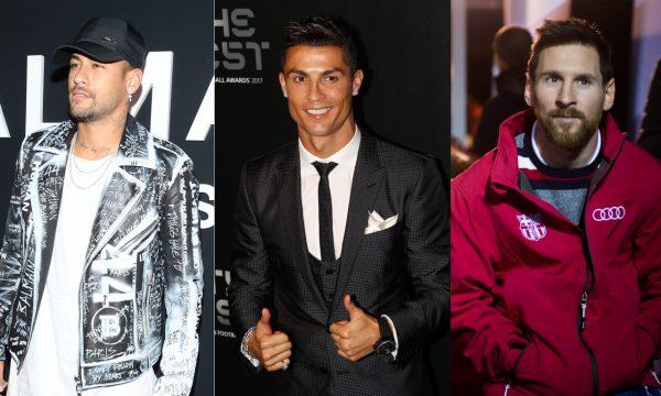 Lionel Messi, Cristiano Ronaldo e Neymar Jr. lideram lista da Forbes dos atletas mais bem pagos de 2019; confira!