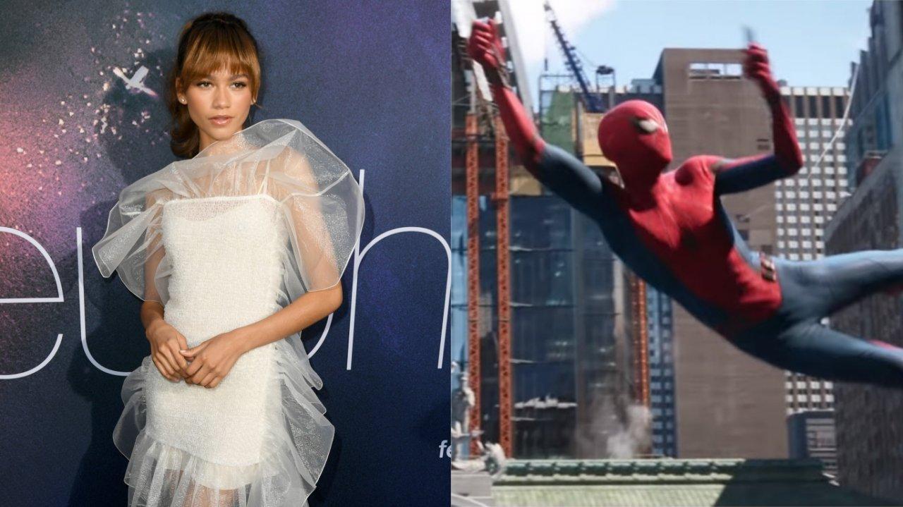 """""""Homem-Aranha: Longe de Casa"""": Zendaya reage às críticas e memes hilários sobre novo pôster do filme; veja melhores versões!>"""