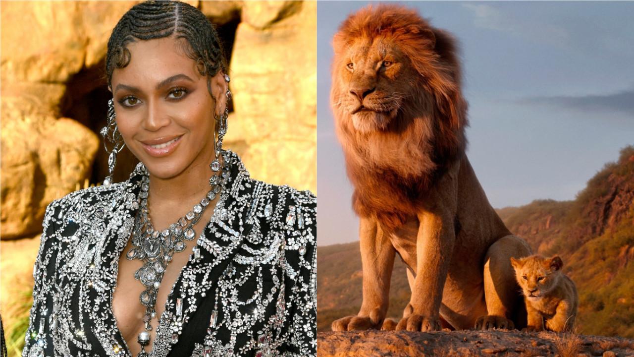 """OMGGG! Beyoncé lança a inédita e linda """"Spirit"""" para a trilha sonora de """"O Rei Leão""""! Vem ouvir!"""