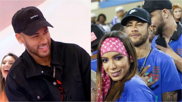 Vídeo: Apertado por Silvio e Patrícia na TV, Neymar fala sobre beijo em Anitta; assista