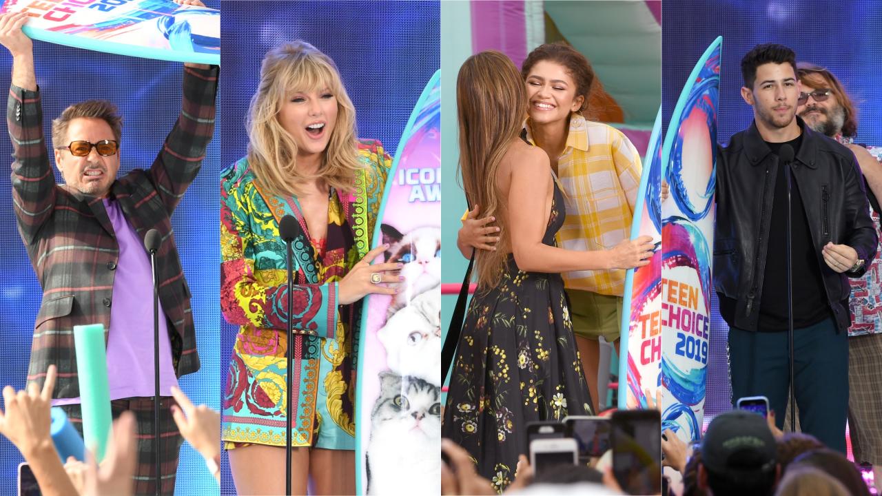 Teen Choice Awards 2019 Vingadores E Riverdale Dominam Taylor Swift Ganha Homenagem E Faz Anuncio Especial E Jonas Brothers Recebe Premio Da Decada Veja Resumo E Lista Completa De Vencedores Hugo Gloss