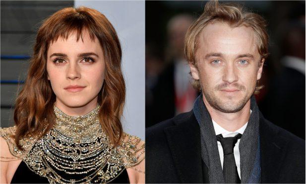 Ownnn! Emma Watson e Tom Felton 'quebram' a internet com foto fofa e incendeiam rumores sobre romance