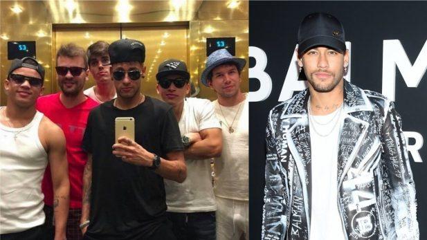 """Zoeiro! Neymar Jr. ironiza notícia de jornal espanhol sobre suposta """"mesada"""" que ele dá aos amigos; vem ver!"""