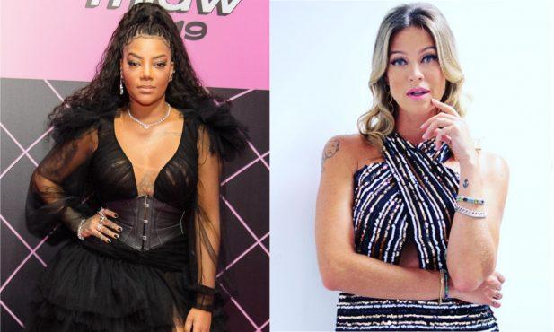 """Eita! Luana Piovani critica música de Ludmilla e cantora faz textão em resposta: """"Você não é nada do que você posta"""""""