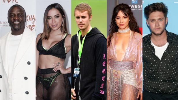 """Retorno mara de Niall Horan; parceria delícia de Anitta e Vitão; novo single de Camila Cabello e hino romântico de Justin Bieber são destaques nos """"Lançamentos de Sexta"""""""
