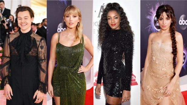 """Clipe INCRÍVEL do reizinho Harry Styles; canção natalina de Taylor Swift; colab mara com IZA e álbum romântico de Camila Cabello são destaques nos """"Lançamentos de Sexta""""; confira!"""