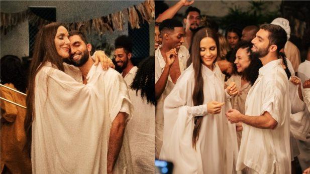 """Exclusivo: Silva e Ivete se unem em clipe LINDO de """"Pra Vida Inteira"""" e fazem festa em Salvador; vem assistir!"""