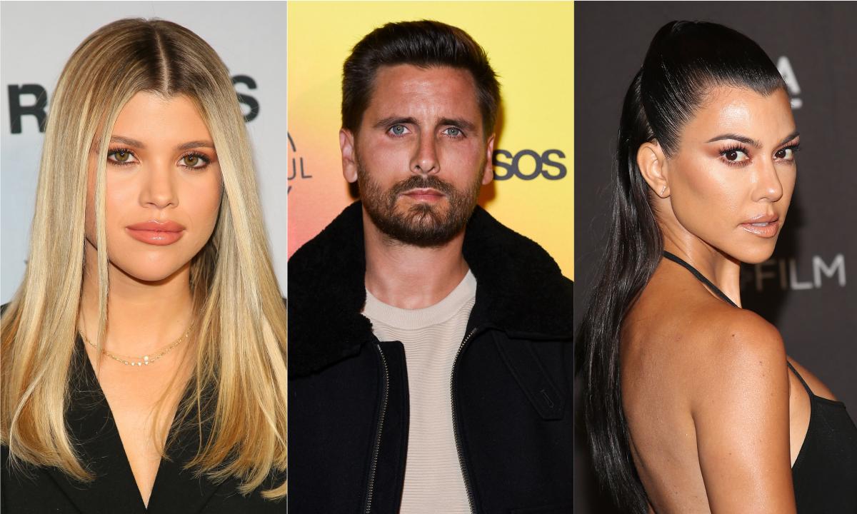 Kourtney Kardashian e Scott Disick são flagrados juntos