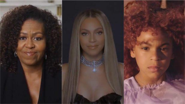 """BET Awards 2020: Beyoncé faz discurso poderoso após receber honra de """"Humanitária do Ano"""" das mãos de Michelle Obama; Blue Ivy também ganha prêmio"""