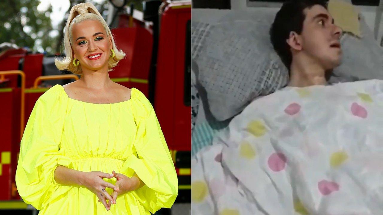 Emocionante! Jovem que perdeu movimentos após ataque homofóbico brutal tem reação inesperada ao ouvir música de Katy Perry; Vídeo viraliza e campanha é criada na web – Hugo Gloss