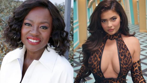 """Em meio à polêmica com participação de Kylie Jenner no clipe de """"WAP"""", Viola Davis substitui a empresária em montagens de fãs e até Cardi B reage!"""