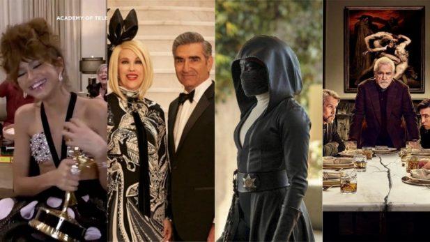 Emmy 2020: Zendaya faz história ao receber prêmio por 'Euphoria'; 'Schitt's Creek' é a grande vencedora, seguida por 'Succession' e 'Watchmen'