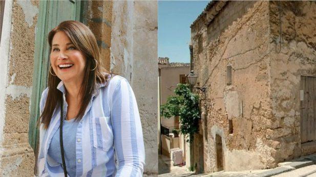 """Lorraine Bracco, de """"Família Soprano"""", compra casa por apenas R$ 6,20 na Itália e faz reforma surpreendente! Veja fotos do 'antes e depois'"""
