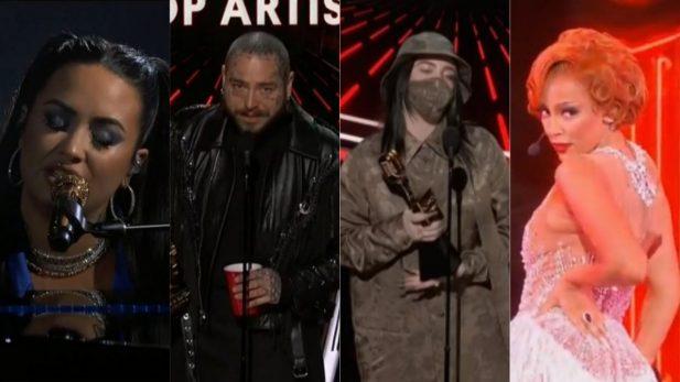 BBMAs 2020: Resumão! Post Malone é o grande vencedor da noite; Billie Eilish, Lil Nas X, Khalid e Kanye West também se destacam — vem ver tudo!