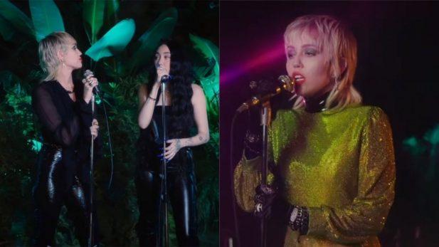 Acústico MTV: Miley Cyrus faz versão bem diferente e INCRÍVEL de hit de Britney Spears e entrega vocais perfeitos com irmã, Noah; assista