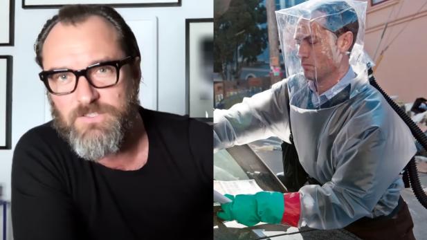 """Jude Law revela que foi alertado sobre pandemia por cientistas no set de """"Contágio""""; saiba os detalhes"""