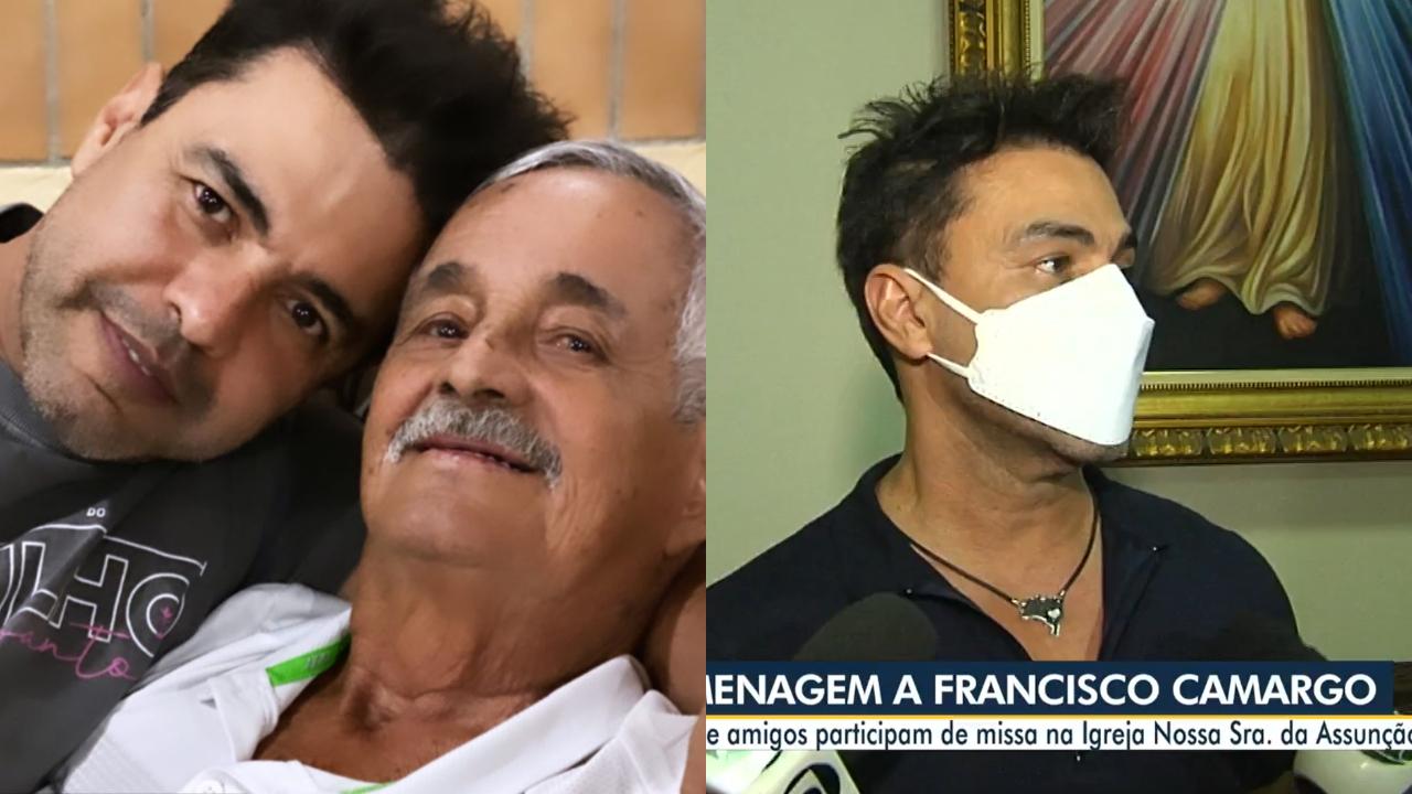 Seu Francisco e Zezé Di Camargo