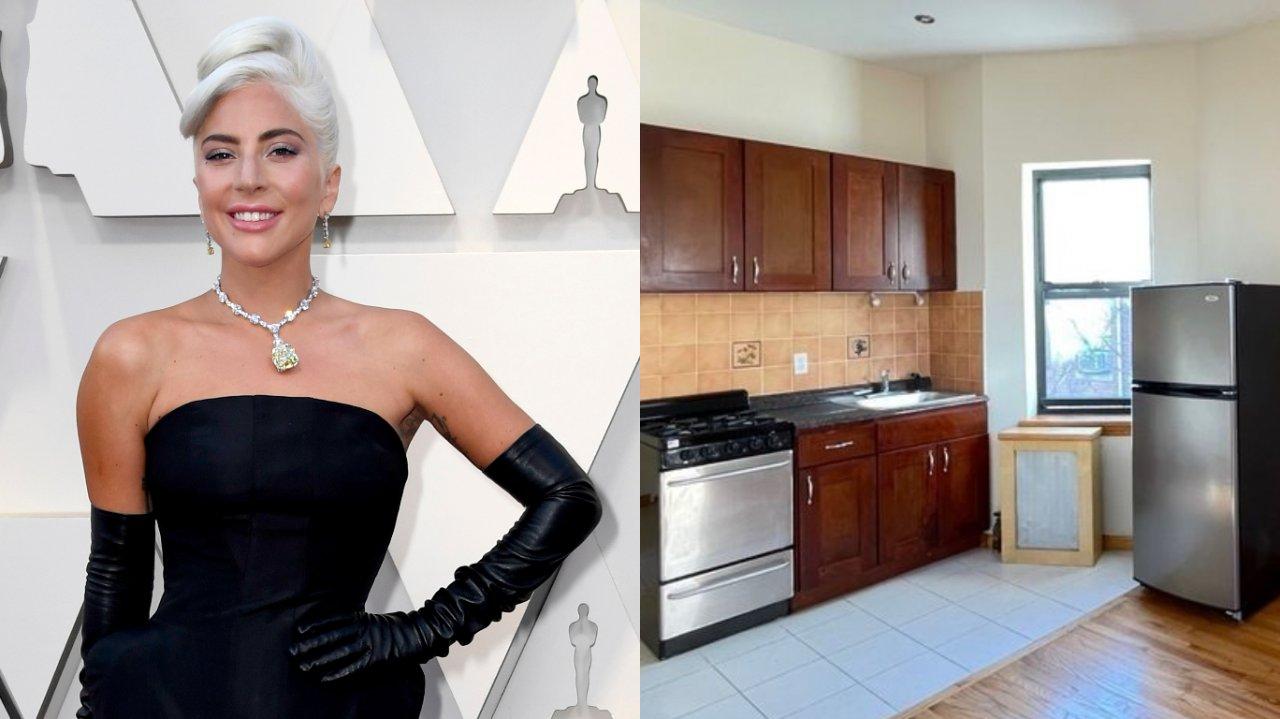 Kitnet que Lady Gaga morou antes da fama é colocada pra aluguel por R$11 mil em Nova York; vem ver as fotos! | Hugo Gloss