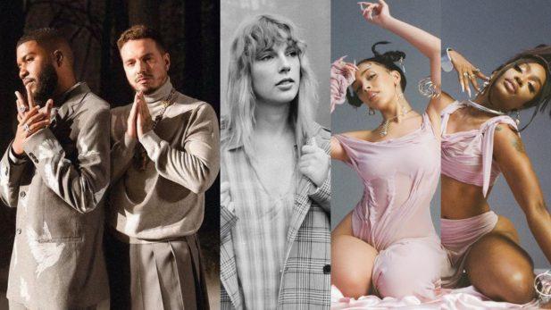 Lançamentos de sexta: Hinário regravado de Taylor Swift, parceria incrível de Doja Cat e SZA, e clipe perfeito de J Balvin e Khalid são destaques — confira!