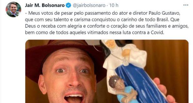 Bolsonaro Paulo Gustavo