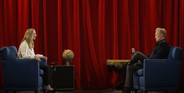 Lisa Kudrow And Conan