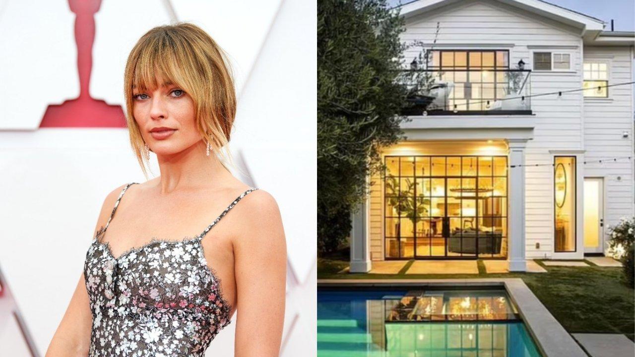 Margot Robbie coloca propriedade à venda (Foto: Getty/Reprodução Mail)
