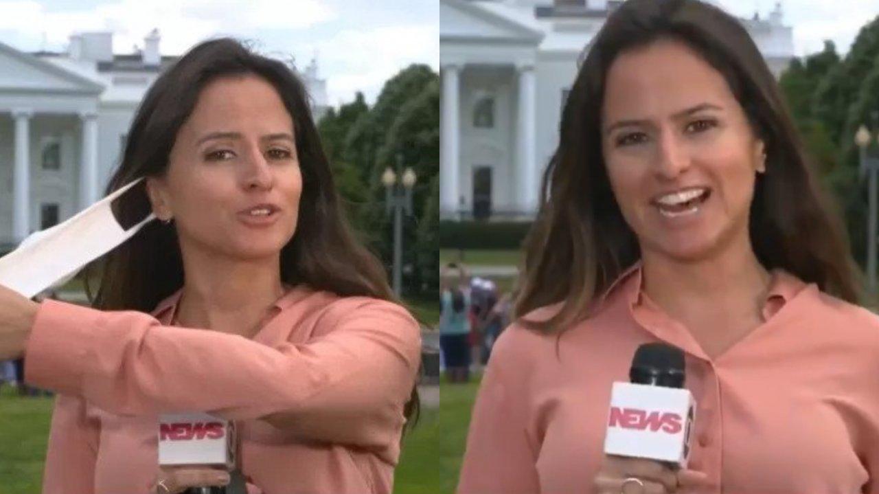 Raquel Mascara Globo News
