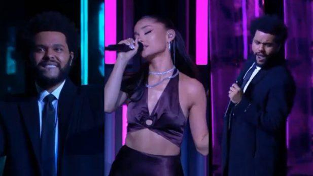 The Weeknd Ariana