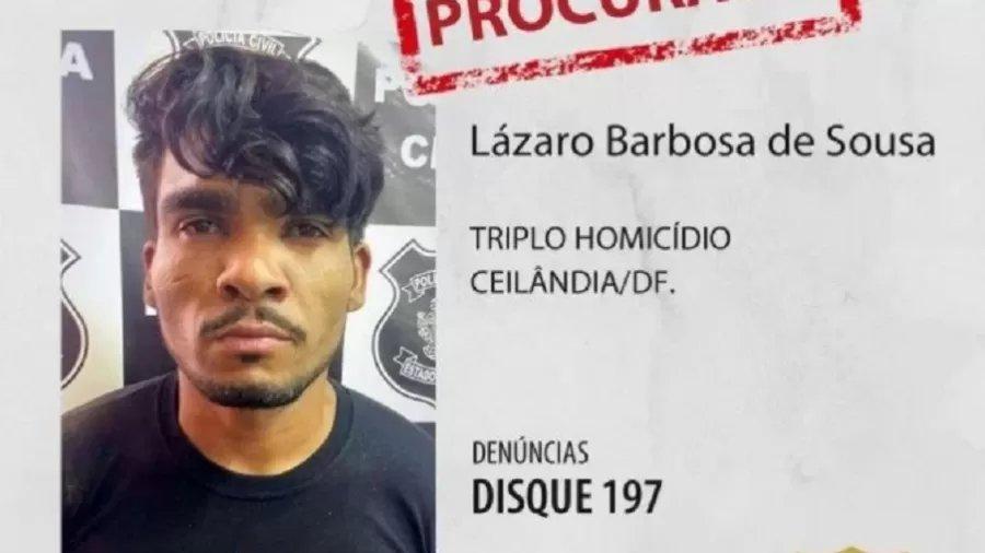 13jun2021 Lazaro Souza E Suspeito De Matar Quatro Pessoas De Uma Familia Em Ceilandia Distrito Federal Uma Delas Apos Sequestro 1623602353141 V2 900x506 Png