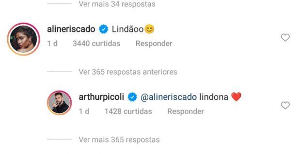 Aline Riscado Arthur Flerte